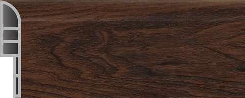 pvc skirting board JF112-91285T dark wood