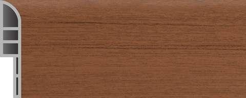 pvc skirting board Walnut Wood