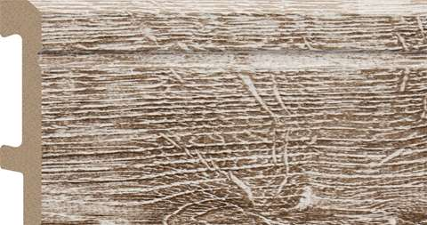 wood colored skirting board