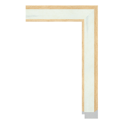 unfinished picture frame moulding with wood grain